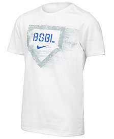 Nike BSBL-Print T-Shirt, Big Boys