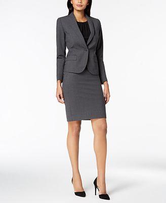 Anne Klein Executive Collection 3 Pc Pants Skirt Suit Set