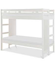 Rachael Ray Chelsea Kids Twin Over Twin Bunk Bed