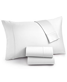 AQ Textiles Surrey 4-Pc. California King Sheet Set, 650 Thread Count 100% Cotton