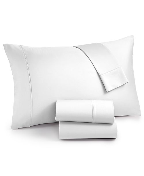 AQ Textiles  CLOSEOUT! Surrey 4-Pc. Queen Sheet Set, 650 Thread Count 100% Cotton Sateen