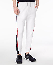 A|X Armani Exchange Men's Side-Stripe Jogger Pants