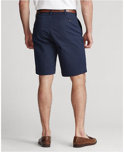Polo Ralph Lauren Men s Classic Fit Stretch Chino Shorts - Shorts - Men -  Macy s de88ddb9c74e