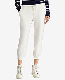 Lauren Ralph Lauren Cropped Athletic Pants