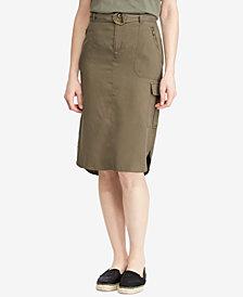Lauren Ralph Lauren Cargo Skirt
