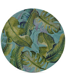 Certified International Tropicana Melamine Salad Plate