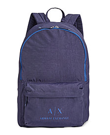 Armani Exchange Men's Logo Backpack
