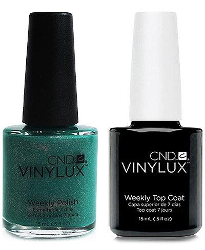 Creative Nail Design Vinylux Art Basil Nail Polish & Top Coat (Two Items), 0.5-oz., from PUREBEAUTY Salon & Spa
