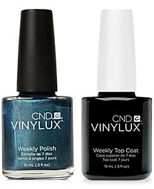 Creative Nail Design Vinylux Fern Flannel Nail Polish & Top Coat (Two Items), 0.5-oz., from PUREBEAUTY Salon & Spa