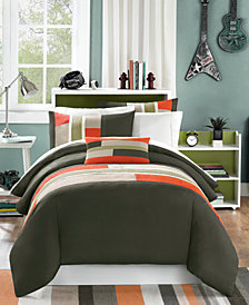 Mi Zone Pipeline 4-Pc. Full/Queen Duvet Cover Set