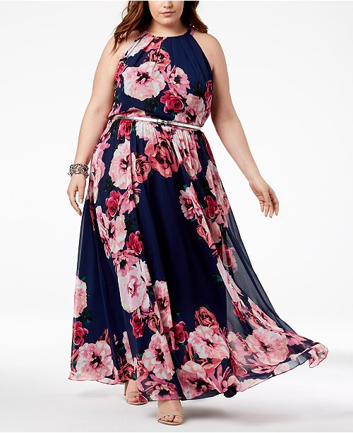 INC International Concepts I.N.C. Plus Size Floral-Print ...