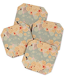 Deny Designs Iveta Abolina Creme De La Creme Coaster Set