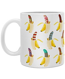 Deny Designs Bianca Green Anna Banana Coffee Mug