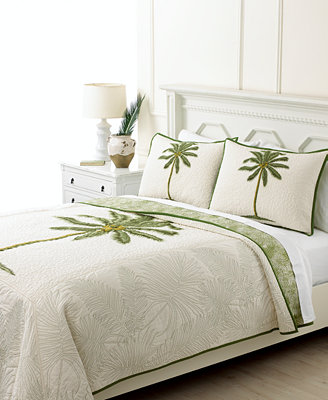 Closeout Martha Stewart Collection Coconut Palm Quilts