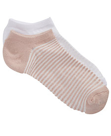 Lemon Women's 2-Pk. Beach Mesh No-Show Socks