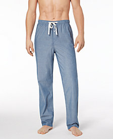 Polo Ralph Lauren Men's Woven Chambray Cotton Pajama Pants