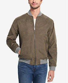 Weatherproof Microsuede Baseball Jacket, Created for Macy's