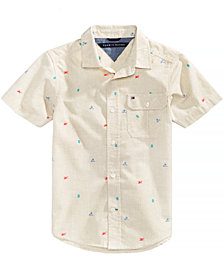Tommy Hilfiger Desert Cotton Shirt, Big Boys