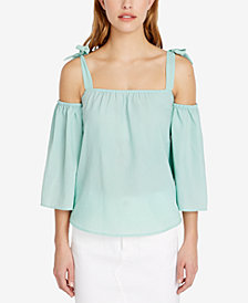 Buffalo David Bitton Cold-Shoulder Top
