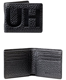 Hugo Boss Men's Logo Leather Bifold Wallet