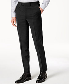 Calvin Klein Men's Skinny-Fit Infinite Stretch Black Suit Pants