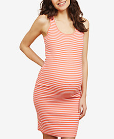 Motherhood Maternity Ruched Dress