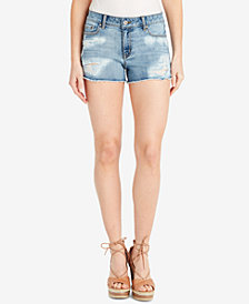 Jessica Simpson Cherish Ripped Denim Shorts