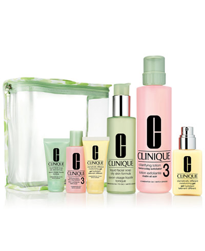Clinique 7-Pc. Great Skin Everywhere Gift Set - For Oilier Skin