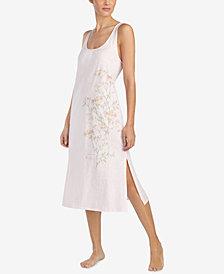 Lauren Ralph Lauren Back-Knot Graphic Nightgown