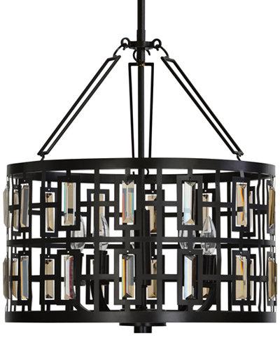 Uttermost Rhombus 5-Light Pendant