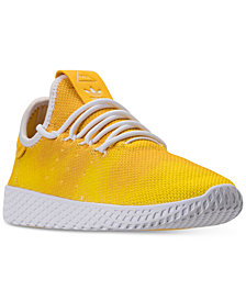 adidas Big Boys' Originals Pharrell Williams Tennis HU Casual Sneakers from Finish Line