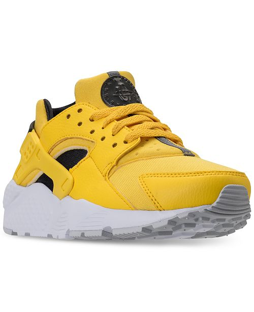 cc7dcda82f1 Nike Big Boys  Huarache Run Running Sneakers from Finish Line ...