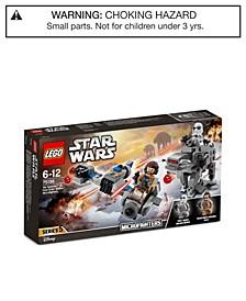 Star Wars Ski Speeder vs. First Order Walker Set 75195