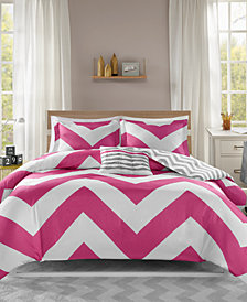 Mi Zone Libra Reversible 4-Pc. Full/Queen Duvet Cover Set