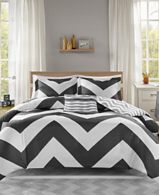 Mi Zone Libra Reversible 4-Pc. King/California King Duvet Cover Set