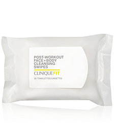 Clinique CliniqueFIT Post-Workout Face + Body Cleansing Swipes, 20-Pk.