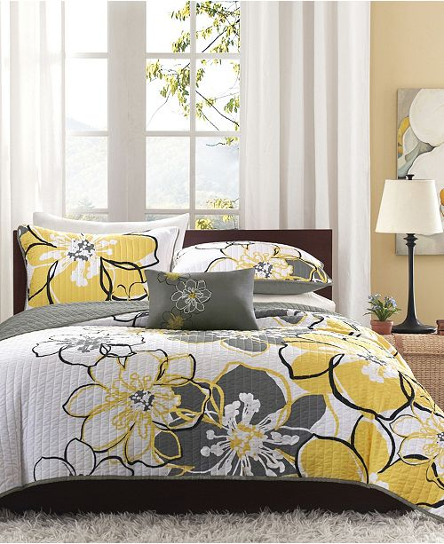 Mi Zone Allison 3-Pc. Twin/Twin XL Coverlet Set
