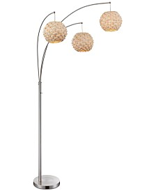 Lite Source Linterna 3-Light Floor Lamp