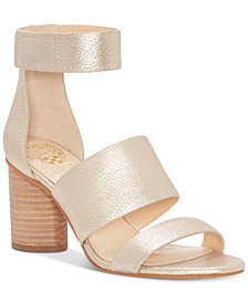 Vince Camuto Junette Cylinder-Heel Dress Sandals