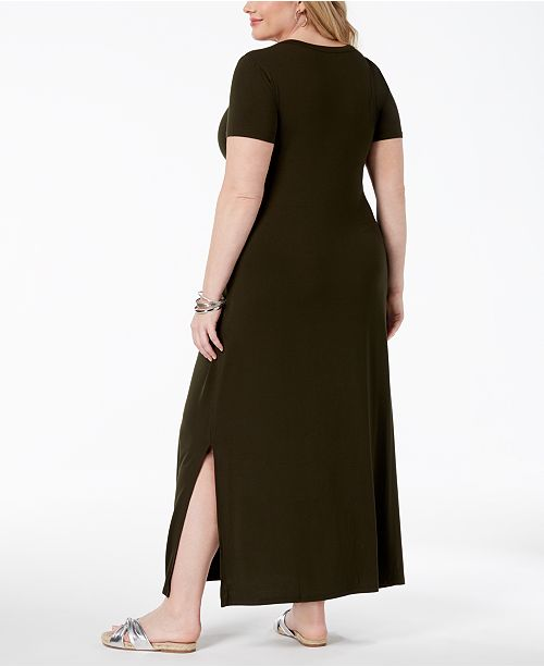 e4acb825340 Style   Co Plus Size T-Shirt Maxi Dress
