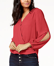 I.N.C. Split-Sleeve Top, Created for Macy's