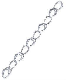 Danori Crystal & Pavé Link Bracelet, Created for Macy's