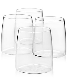Lucky Brand Double Old-Fashioned Glasses, Set of 4, Created for Macy's