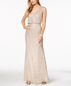 cde2b6d87 Adrianna Papell Sequined Blouson Gown