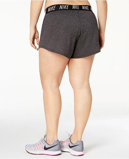 393091e578a Nike Plus Size Flex Dri-FIT Training Shorts   Reviews - Shorts ...