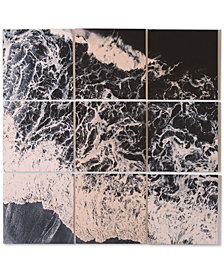 Deny Designs Ingrid Beddoes Sea Lace 9-Pc. Printed Wood Wall Mural