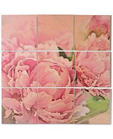 Deny Designs Lisa Argyropoulos Pink Peonies Wood Wall Mural