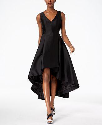 Calvin Klein High Low A Line Gown Dresses Women Macys