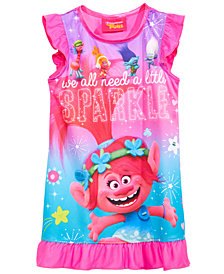 DreamWorks Trolls Graphic-Print Nightgown, Toddler Girls