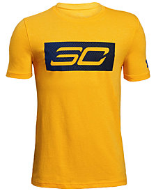 Under Armour SC30-Print T-Shirt, Big Boys